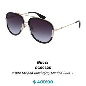 Trendy Gucci shades lightly worn